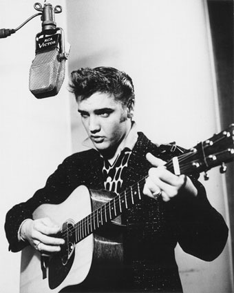 Young Elvis Singing