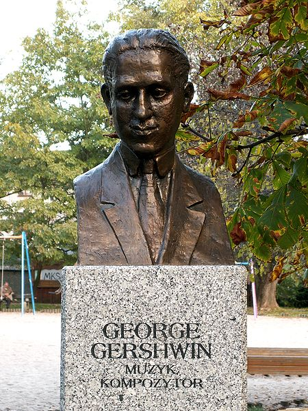 a biography and life work of george gershwin an american music composer